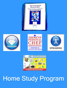 Option A - Personal Chef Home Study Program